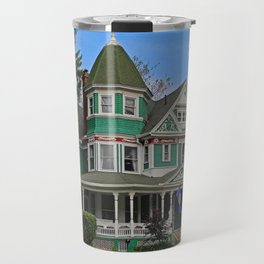 Old West End Green 3- II Travel Mug