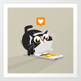 Cat Like Art Print