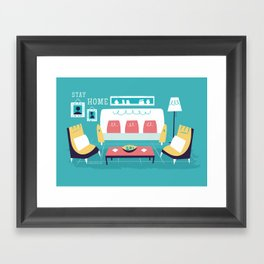 :::Minimal living room::: Framed Art Print