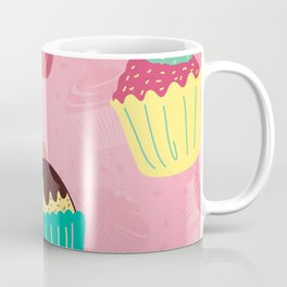 Cupcake Baking Cake Pattern Gift Coffee Mug