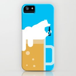 polar beer iPhone Case