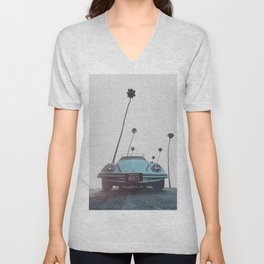 California Unisex V-Neck