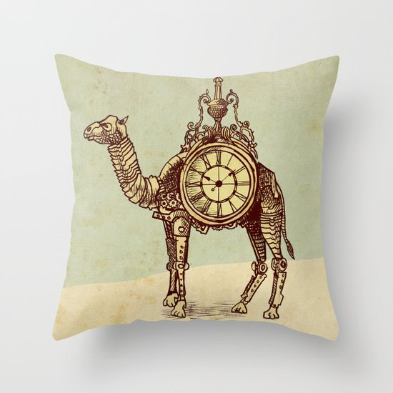Desert Time Throw Pillow