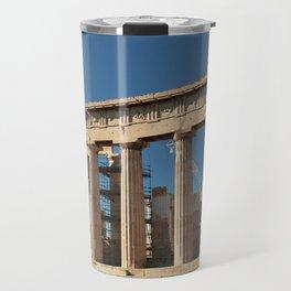 Parthenon, Acropolis of Athens, Greek photography, ancient Greece Travel Mug
