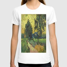 Vincent Van Gogh : Landscape at Twilight T-shirt