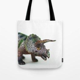 Fine Art Dinosaur Print: Triceratops Tote Bag