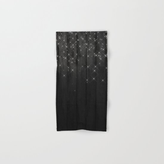 Fairy Lights on Wood 05 Hand & Bath Towel