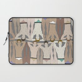 Retro Male Swimmers Laptop Sleeve