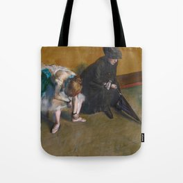 Edgar Degas - Waiting Tote Bag