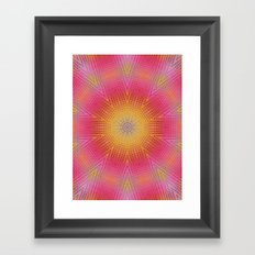 BAM! it's summer! Framed Art Print
