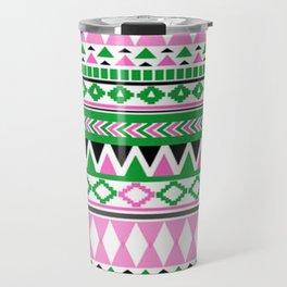 Tribal Pattern 07 Travel Mug