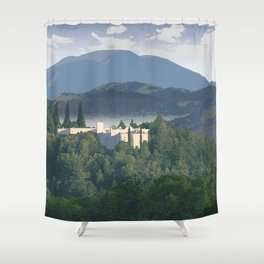 Napa Valley - Sterling Vineyards, Calistoga District Shower Curtain