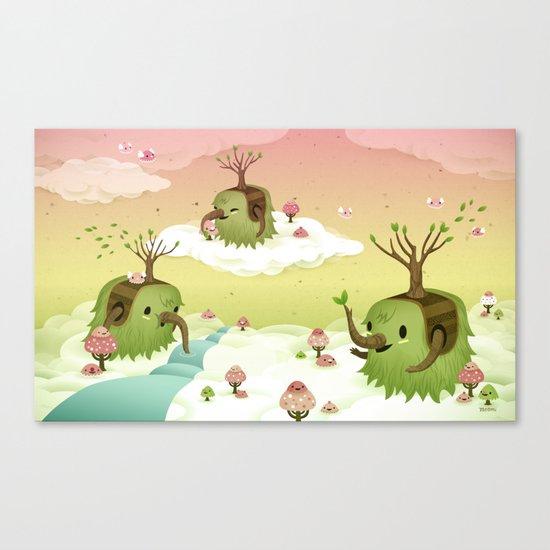 Mossiphants Canvas Print