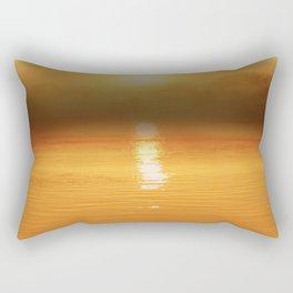Danube Sunset//Dust Rectangular Pillow