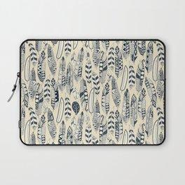 joyful feathers cream Laptop Sleeve