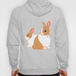 Blonde Dutch Rabbits Hoody