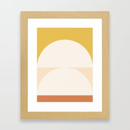 Abstract Geometric 01 Framed Art Print