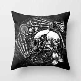 Hell Hope Horrible Throw Pillow