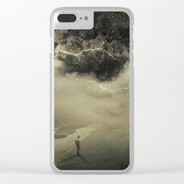 into the sandstorm Clear iPhone Case