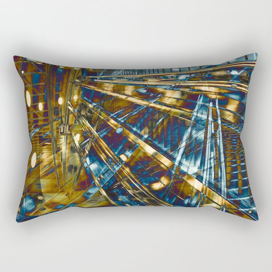 City Lines Rectangular Pillow