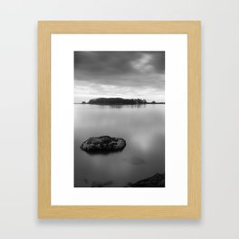Sunset Along the Hikshari' Framed Art Print