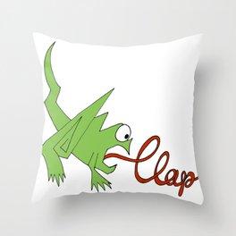 Clap 2013 Throw Pillow