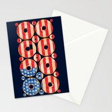 USA donuts Stationery Cards