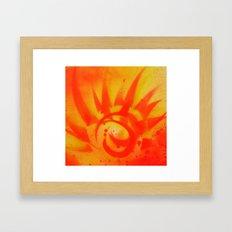 Kick it real good Framed Art Print