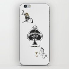 The ace of spades iPhone Skin