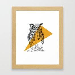 UHU - Eurasian Eagle Owl (Bubo bubo) Framed Art Print