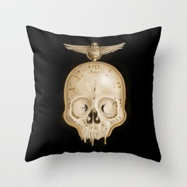 The Consequence of Time Throw Pillow