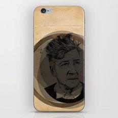 David Lynch Globe iPhone & iPod Skin