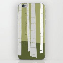 Quiet Birches iPhone Skin
