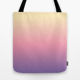 Pastel Gradient Tote Bag