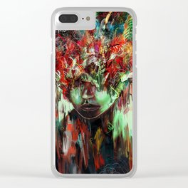 Chaotic Mind Clear iPhone Case