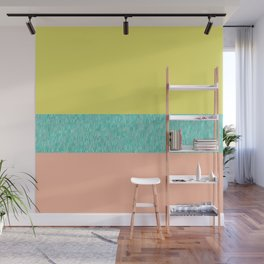 Yellow-Pink Wall Mural