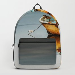 Fisher boat Backpack