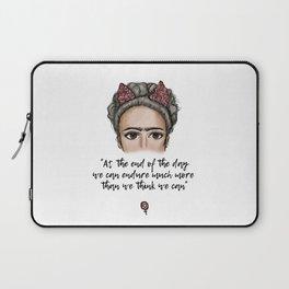 Frida Kahlo Quote Laptop Sleeve