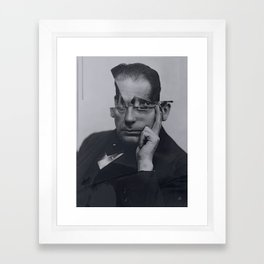 Cut Gropius Framed Art Print