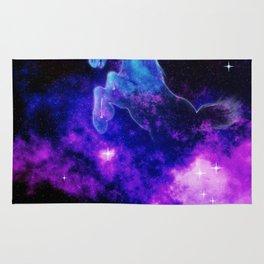 Cosmic Unicorn Rug