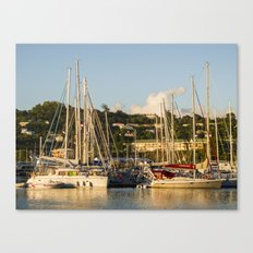 Sailboats of St. George's Canvas Print