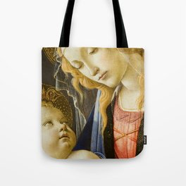 Madonna and Child Renaissance Religious art Tote Bag