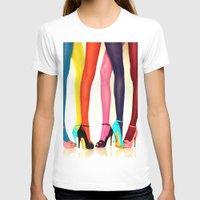 legs T-shirts featuring Legs by Wanker & Wanker