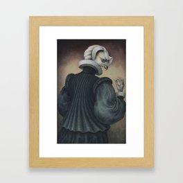 Fragile Assertion Framed Art Print