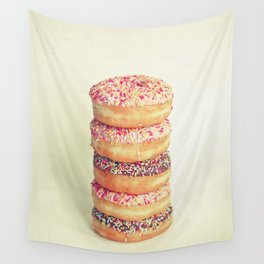 Stack of Donuts Wall Tapestry