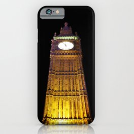 Big Ben – Paint & Poster Effect iPhone Case