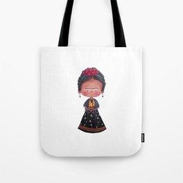 Frida - Watercolor Tote Bag