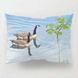 Enjoying a Swim Pillow Sham