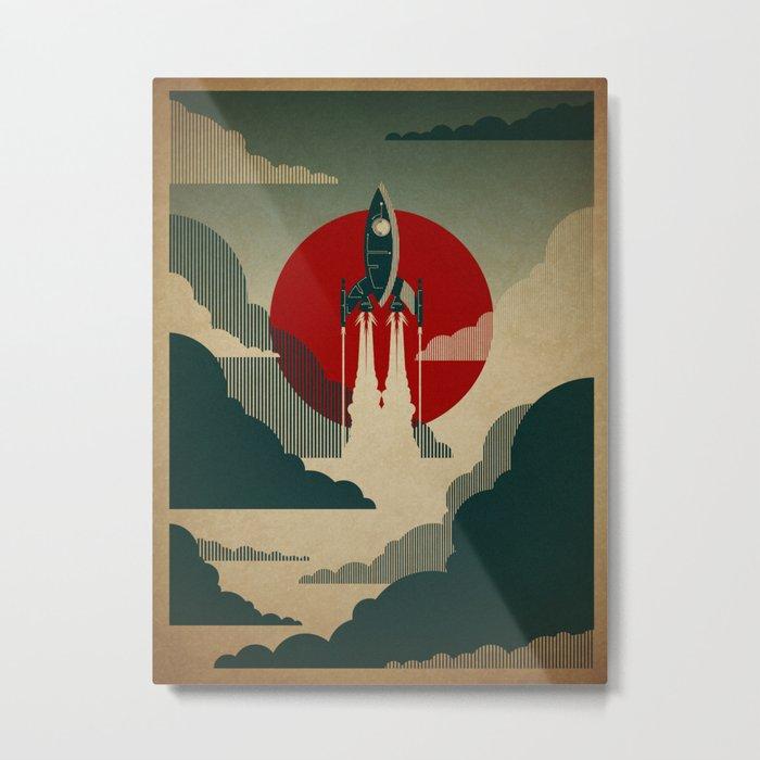 The Voyage Metal Print