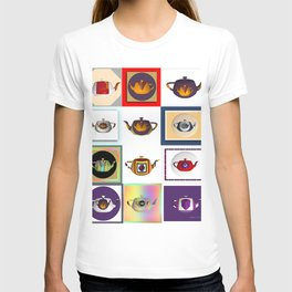 Teapots in Abstract T-shirt